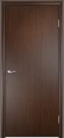 Дверь ламинированная Новинка глухая, венге (серая)