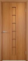 Дверь ламинированная Японка глухая, миланский орех (светлая)
