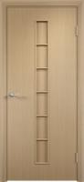 Дверь ламинированная Японка глухая, беленый дуб
