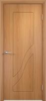 Дверь пвх  Жасмин межкомнатная глухая, миланский орех (светлая)