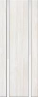 Дверь пвх Веста2 межкомнатная со стеклом триплекс (белое матовое), беленый дуб