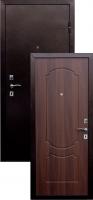 Входная металлическая дверь Виктория, итальянский орех