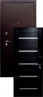 Входная металлическая дверь Виктория S-1, венге