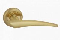 Ручка FRANCCO Н 714P цвет блеск золото для межкомнатной двери