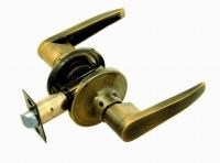 Ручка-защелка 350 PS Q KNOB цвет бронза без фиксатора для межкомнатной двери