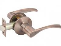 Ручка-защелка 390 PS R KNOB цвет медь без фиксатора для межкомнатной двери