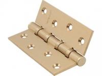 Петли универсальные врезные SB цвет матовое золото для межкомнатной двери