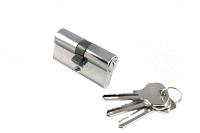 Цилиндр ЕС М70 ФV D цвет никель ключ/ключ для межкомнатной двери