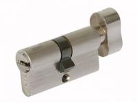 Цилиндр ЕС М70 ФV D цвет никель ключ/вертушок для межкомнатной двери