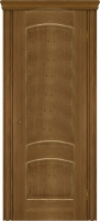 Дверь Агат II шпонированная межкомнатная глухая, дуб натуральный