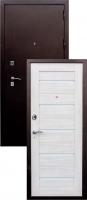 Входная металлическая дверь Аякс S-1, беленый дуб