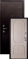 Входная металлическая дверь Пальмира, дуб ивори