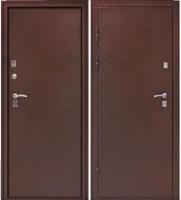 Входная металлическая дверь Строй Гост 7-2 теплая, мет/мет