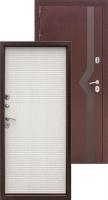 Входная металлическая дверь Изотерма, беленый дуб